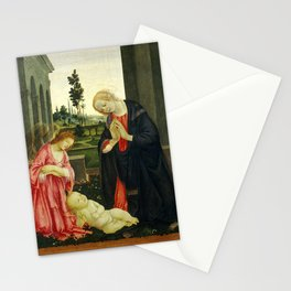 "Filippino Lippi ""The Adoration of the Child"" Stationery Cards"