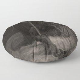 Cthulhu Rises Floor Pillow