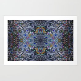 silky sea Art Print