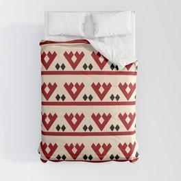 geometric flower 97 ceramic colors Comforters