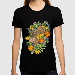 Jackalope Wildflower Florals T-shirt
