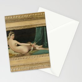 Jean-Auguste-Dominique Ingres - Odalisque Stationery Cards