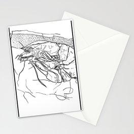Shrimp Stationery Cards