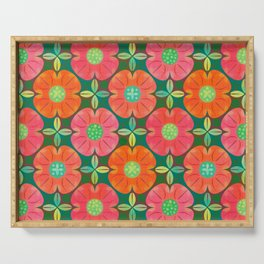 Nordic Floral (pattern) Serving Tray