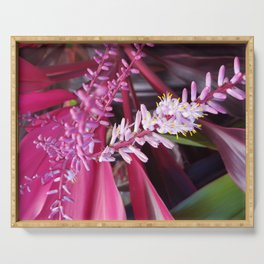 Tropical Flowers Serving Tray