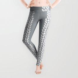 Cable Grey Leggings