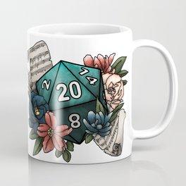 Bard Class D20 - Tabletop Gaming Dice Coffee Mug