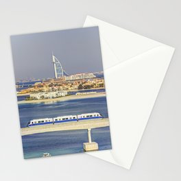Burj Al Arab and Palm Jumeirah Monorail Stationery Cards