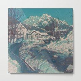 Austrian Winter IV Metal Print