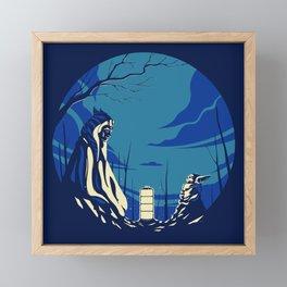 """""""The Jedi and The Child"""" by Matt Kehler Framed Mini Art Print"""