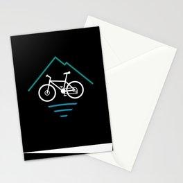 Trail Bike Cycling Logo Stationery Cards