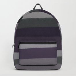 Purple Stripes Backpack
