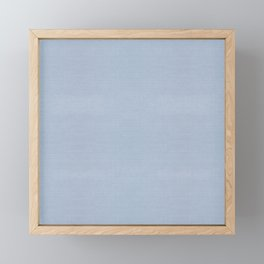 501 FADED BLUE DENIM CHAMBRAY Framed Mini Art Print