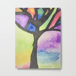 Tree of Faith Metal Print