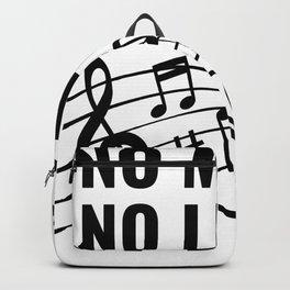 No Music. No Life. Backpack