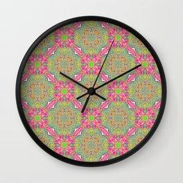 Princess Limeade Wall Clock