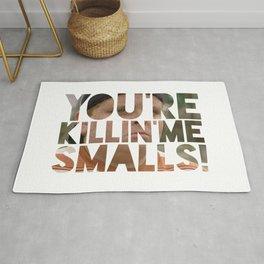 Youre killing me smalls sand lot baseball Rug