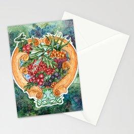 Art nouveau. Mors drink. Stationery Cards
