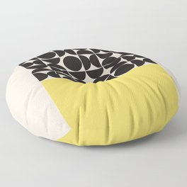 Mid century modern, mid-century wall art, print, geometric wall art, abstract wall art, interior, ma Floor Pillow