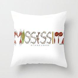 StarkVegas - Mississippi State Throw Pillow