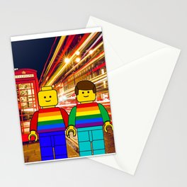 Mini Figures do LGBT Pride Gay pride in London Stationery Cards