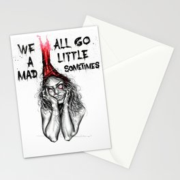 Mad inside Stationery Cards