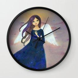 Christmas Angel 2 Wall Clock