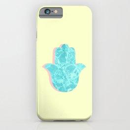 water hamsa iPhone Case
