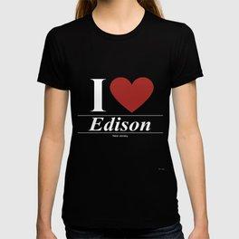 Edison New Jersey NJ New Jerseyan T-shirt