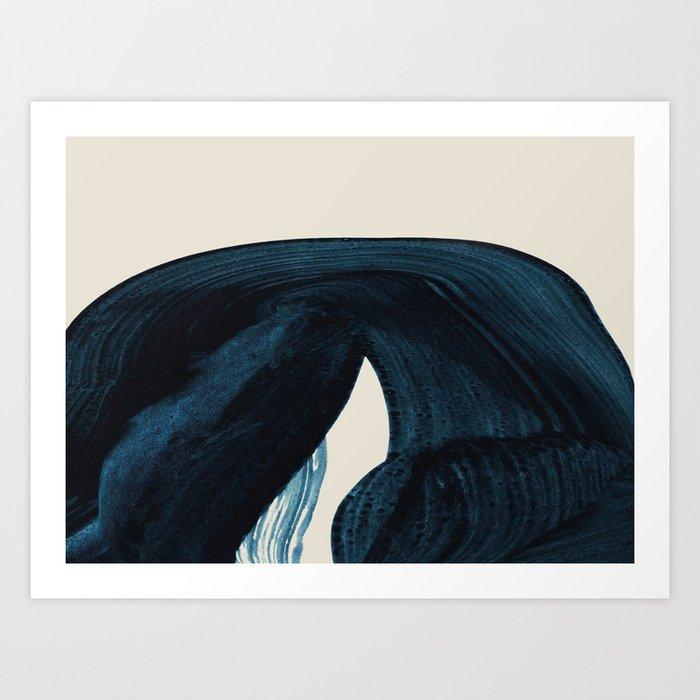 Lux Blue Kunstdrucke