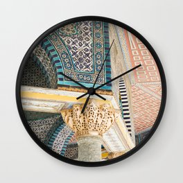 Al Aqsa Mosque, Jerusalem Wall Clock