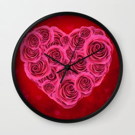 Nothing But Love Wall Clock