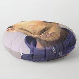 fredo Santana mugshot Floor Pillow