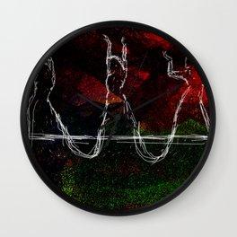 Belly Dancing symbolic art Wall Clock