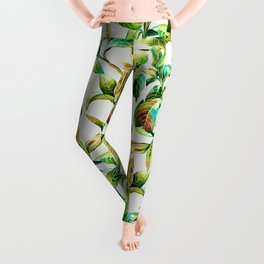 Passion for the leaves Leggings