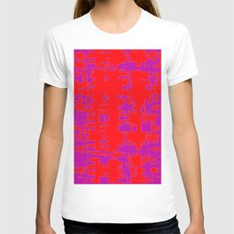 jitter, red violet, 3 T-shirt