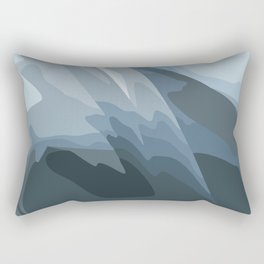 Shimmers of light on the tulle of a warm autumn day Rectangular Pillow