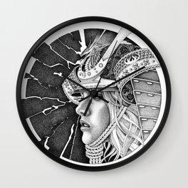 samurai passion Wall Clock
