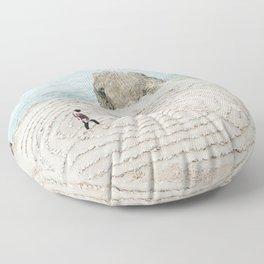 Human Mandala Floor Pillow