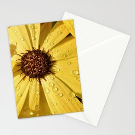 Yellow Petals Flower Stationery Cards