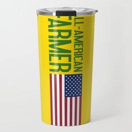 All-American Farmer Travel Mug