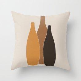 Trio #1 Throw Pillow