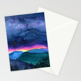 Good Night Smoky Mountains Stationery Cards