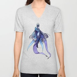 The Goddes of Ice Unisex V-Neck