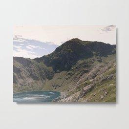 Snowdon Metal Print