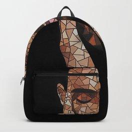 portrait,ovo,scorpion,geometric,rapper,colourful,colorful,poster,wall art,fan art,music,hiphop Backpack