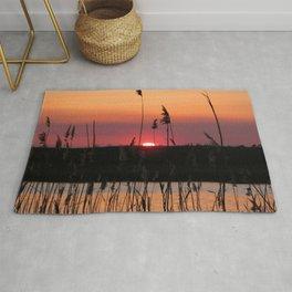 Watercolor Sunset, Janes Island 05, Maryland Rug