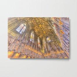 St Giles Cathedral Edinburgh Sketch Metal Print