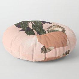 tiger at heart Floor Pillow