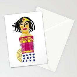 Mujer Maravilla Stationery Cards